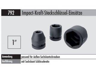 steckschl ssel einsatz impact kraft 1 792 24 mm f r. Black Bedroom Furniture Sets. Home Design Ideas