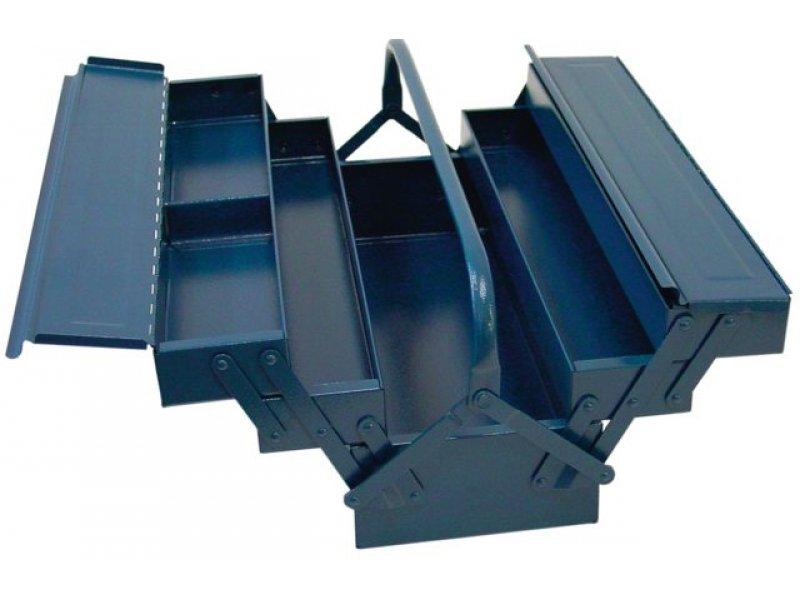 stahlblech werkzeugkasten 600x200x200 mm 5 tlg hauck ha. Black Bedroom Furniture Sets. Home Design Ideas
