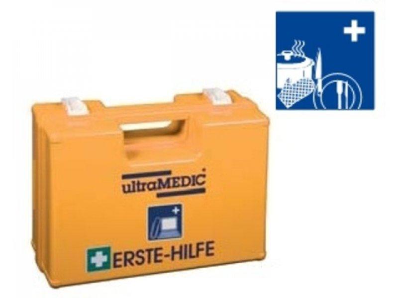 Erste-Hilfe-Koffer für den Einsatz in Küchen, Kantinen, Imbissen ...